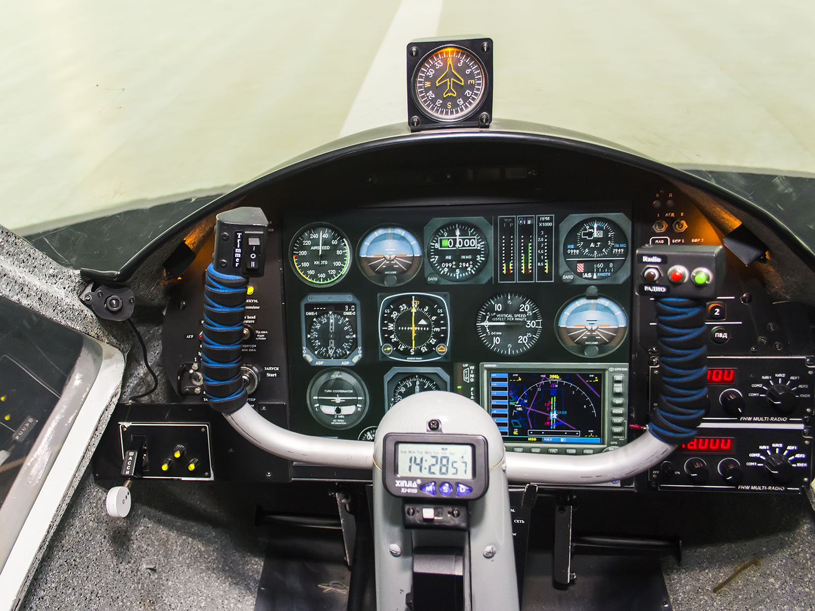Flight and Navigation Procedure Trainer cat. I. Instrument Flight Rules