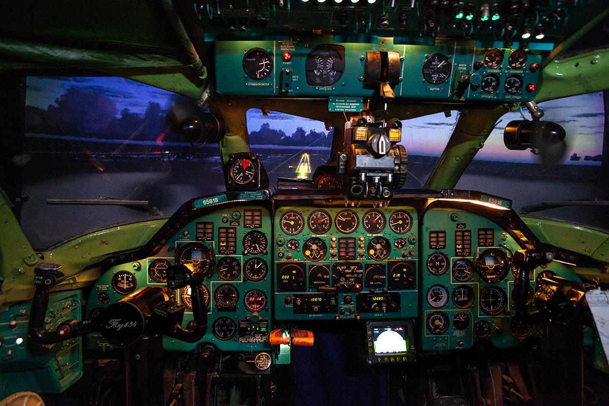 Авіаційний тренажер літака Ту-134А