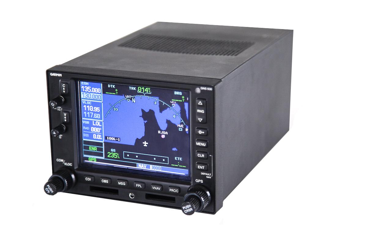 FHW's Garmin GNS-530 simulator