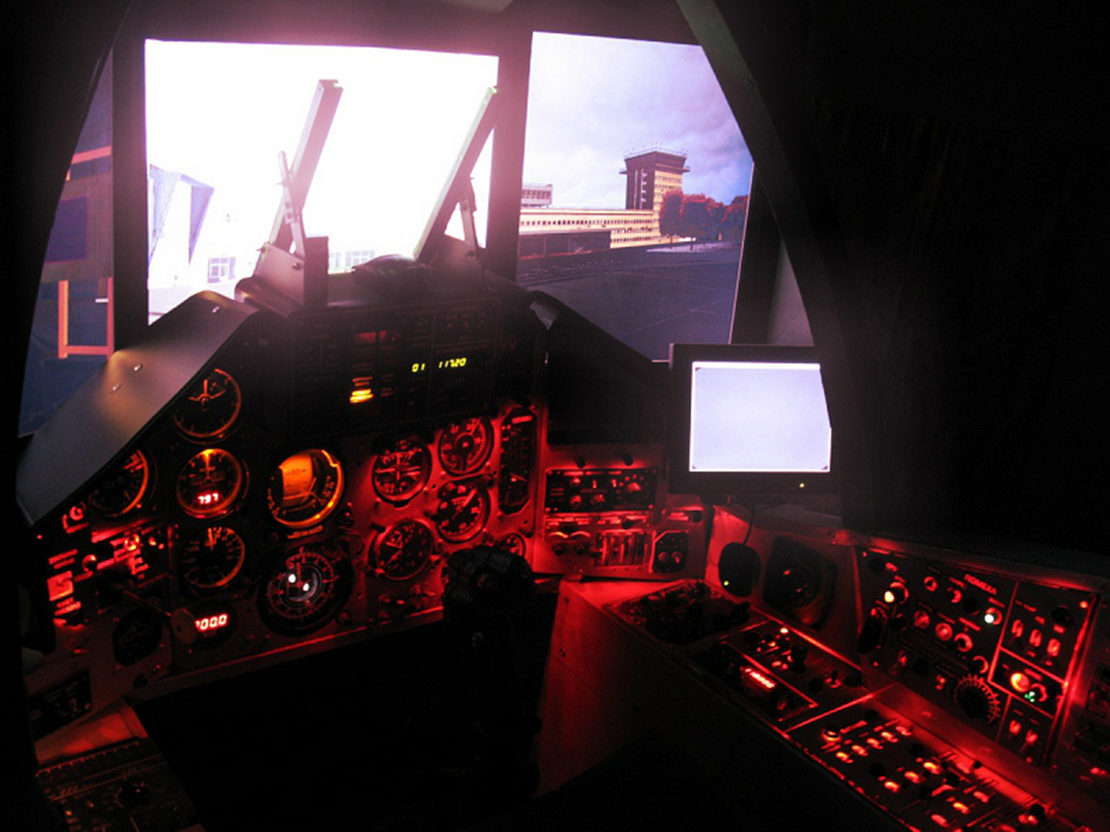 Suchoi Su-25 Home-cockpit