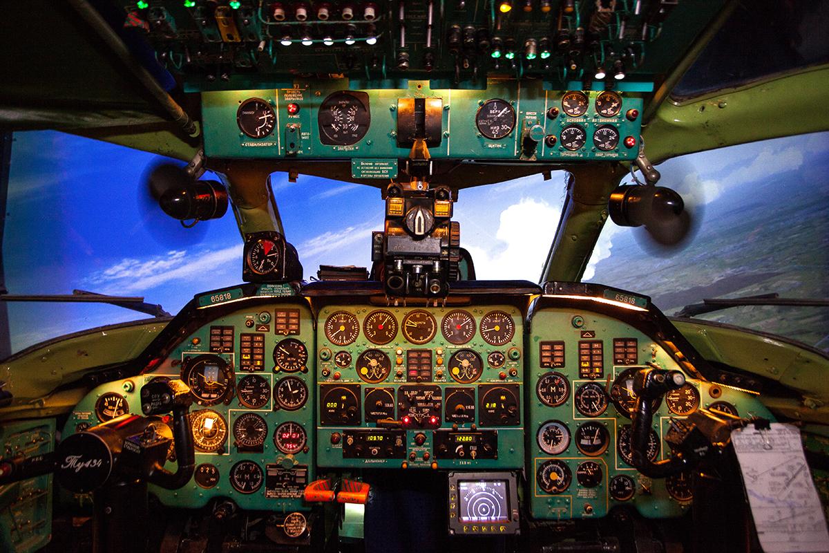 Tupolev Tu-134A flight training device