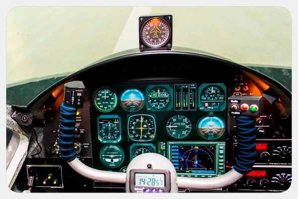 Flight and navigation procedure trainer