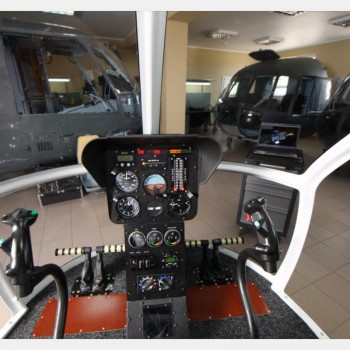 Procedure training for АК-1-3 helicopter