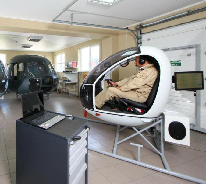 процедурный тренажер вептолета АК-1-3